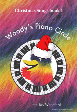 Woody's Piano Circle Christmas Songs Books