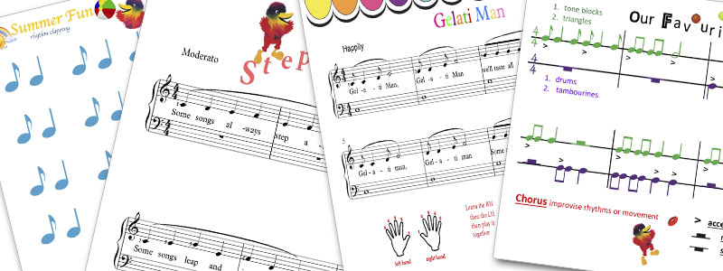 Woodys Piano Circle Student Course Sample Pages