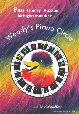 Woody's Piano Circle Fun Theory Puzzle Books