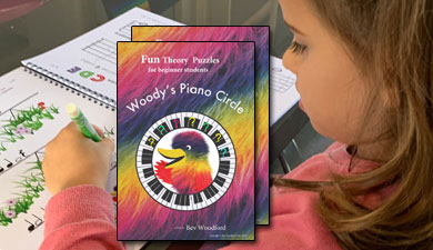 Woodys Piano Circle Puzzle Books
