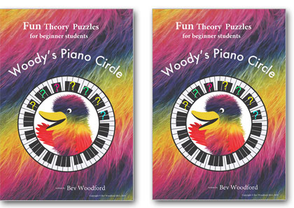 Woody's Piano Circle Fun Theory Puzzles Books